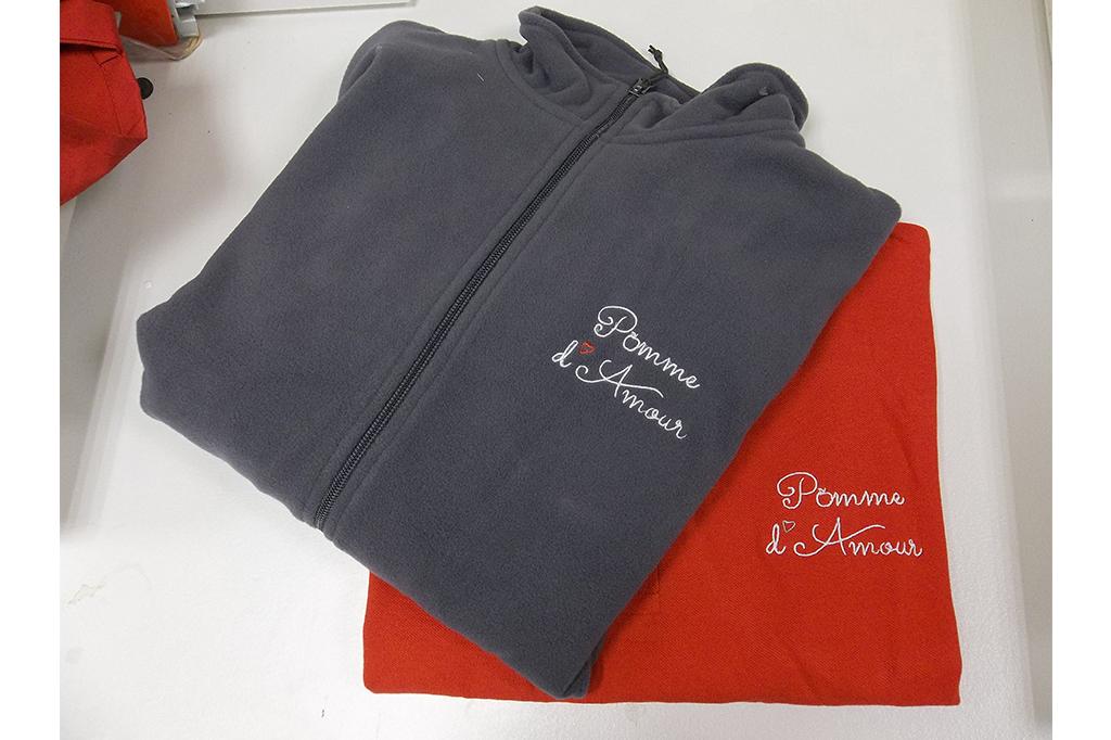BROBERIE POLAIRE POMME D'AMOUR