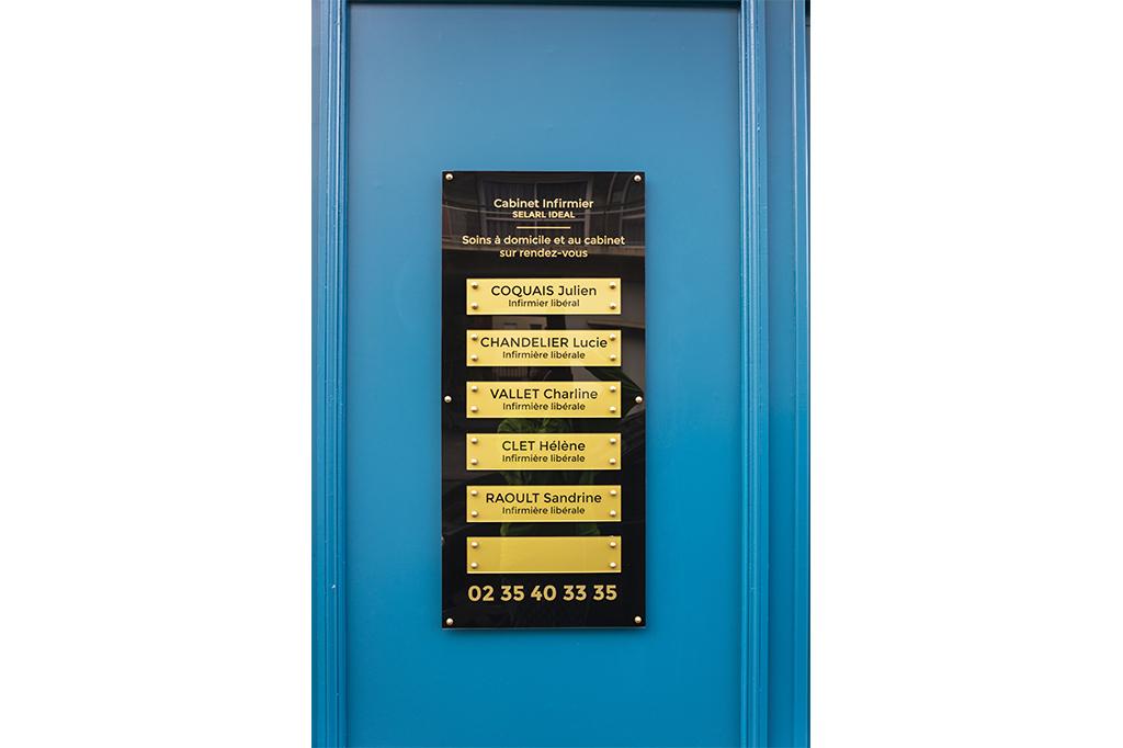 plaque-gravoglas-cabinet-infirmier